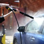 Cleaning your car with a Pressure Washer