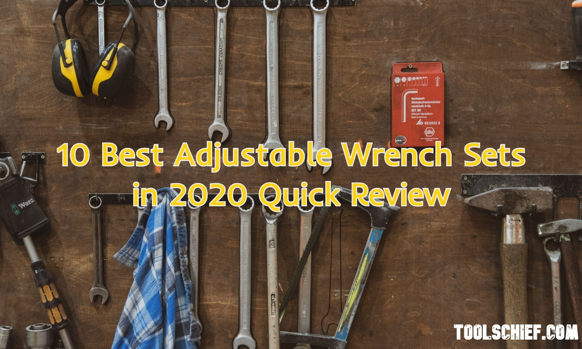 10 Best Adjustable Wrench Sets in 2021