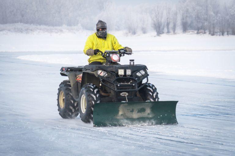 best atv snow plow